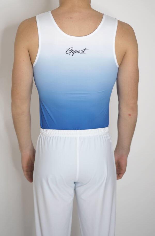Gymnastické šponovky pánské bílé