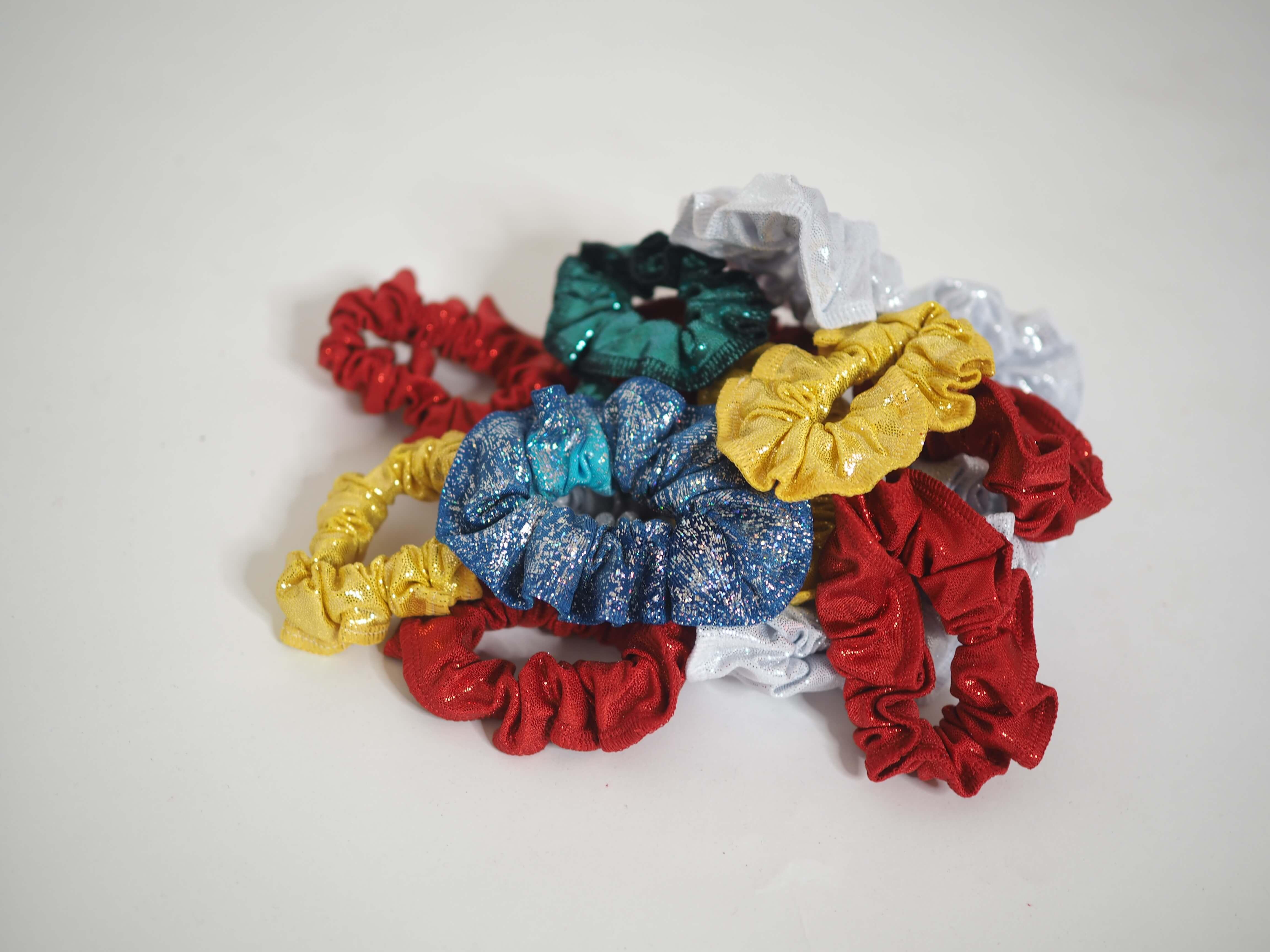 Gumičky do vlasů gymnastické, různé barvy