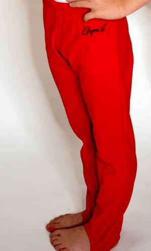 Sponovky ze strany cervene chlapecke gymot
